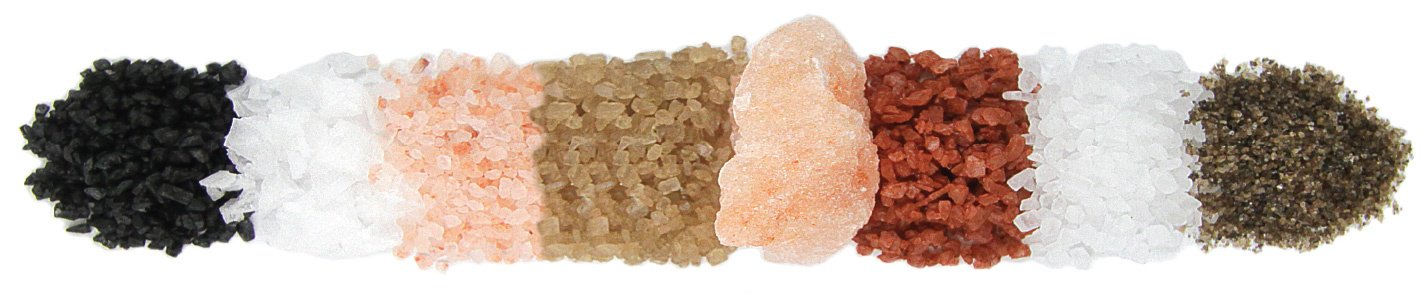 SEA SALT! GREAT GUIDE on which salt to season with and WHY it's good for you!