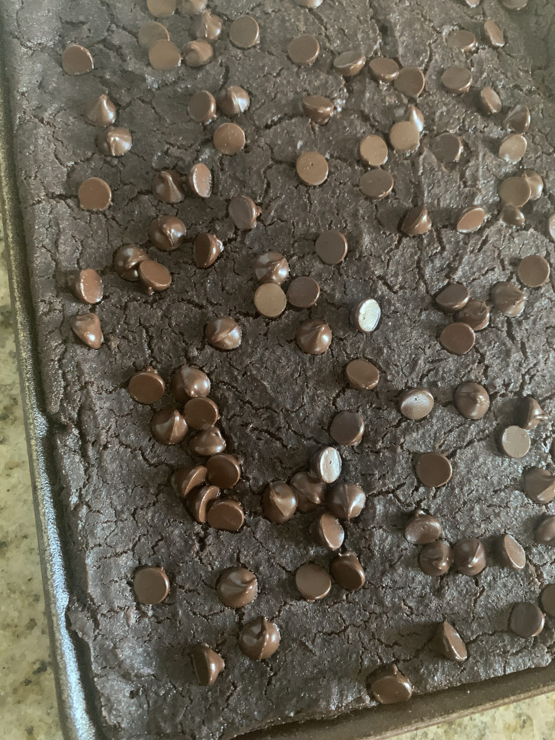 Black bean aduki brownies